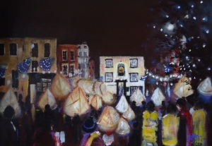 Lanterns and Carols Ashbourne by Ruth Gray