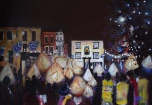 Lanterns and Carols Ashbourne by Ruth Gray