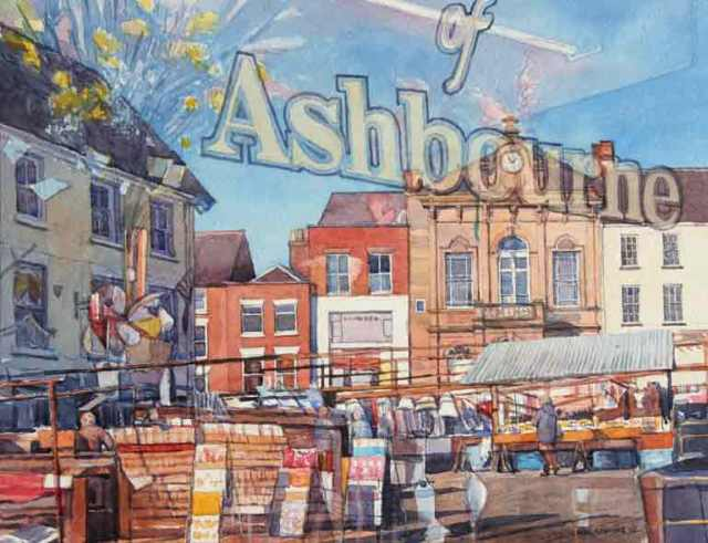 Ashbourne Market Reflection by Neil Clark