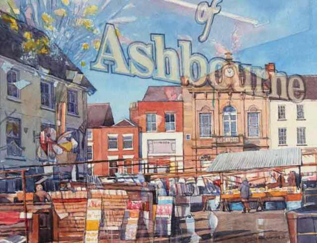 Ashbourne Market Reflection by Neil Clark