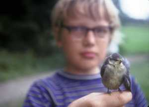 paul with bird 1974