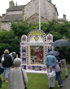 Bakewell well dressing