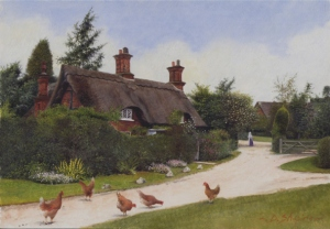 """Osmaston Cottage"" by Derek Shapiro"