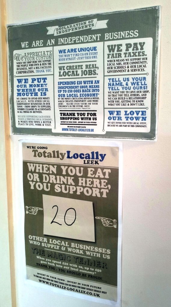 Magnificent posters in Leek from www.totally-locally.co.uk