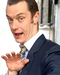 Paul Tonkinson - image courtesy Comedy Store Management http://www.comedystoremanagement.com