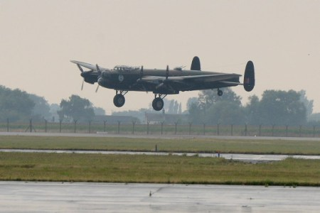Lancaster VERA coming in to land