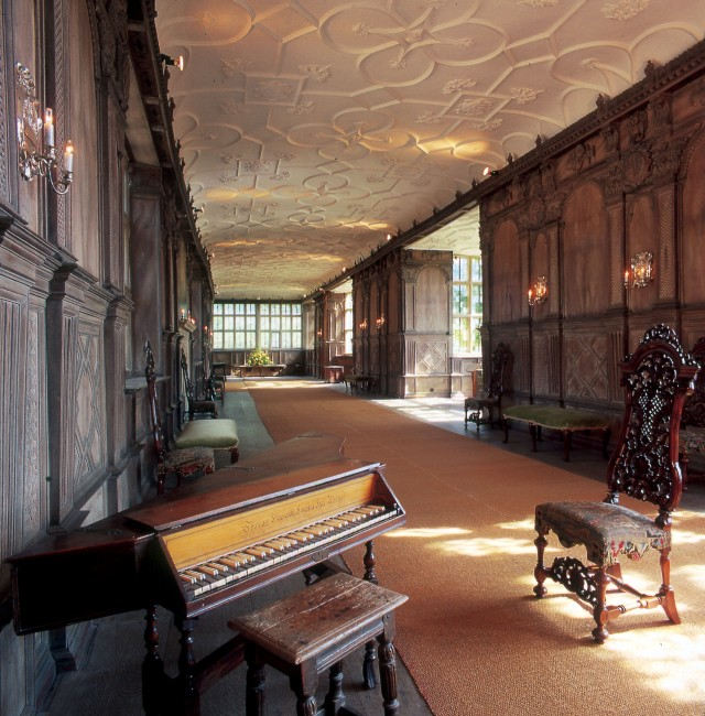 The Long Gallery at Haddon hall